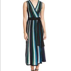 NEW! Diane von Furstenberg Cadenza wrap midi dress